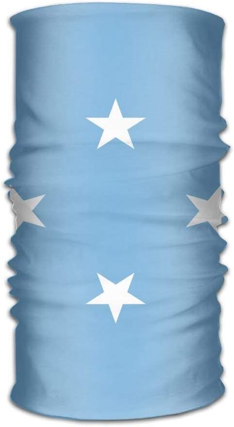 Rghkjlp Flagge von Mikronesien Unisex Outdoor Sportschal Stirnb/änder Bandana Maske Halsbandage Kopfwickel Schwei/ßband Kopfbedeckung Multicolor15