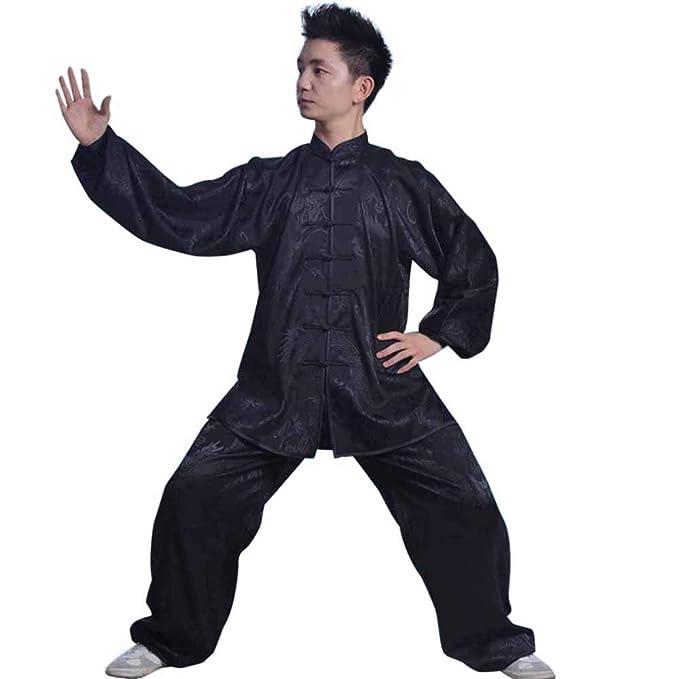 Amazon.com: Taiji Kung Fu - Traje de boxeo con diseño de ...