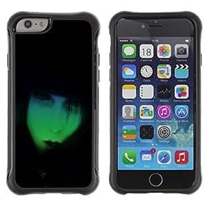Be-Star único patrón Impacto Shock - Absorción y Anti-Arañazos Funda Carcasa Case Bumper Para Apple iPhone 6(4.7 inches) ( Neon Goth )