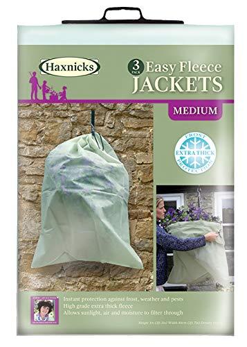 Tierra Garden 50-8010 Haxnicks Easy Fleece Jacket, 3-Pack, Medium