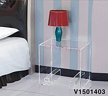 Amazon.com: ONELUX Waterfall Crystal Acrylic Bedside ...