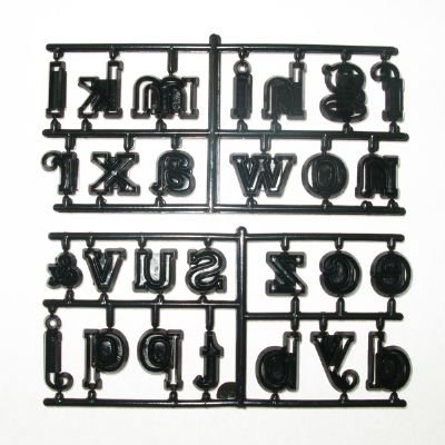 Patchwork Cutter - Large Alphabet Lower Case