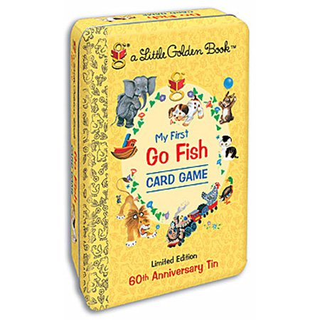 Golden Book Go Fish Tin Go Fish Tin