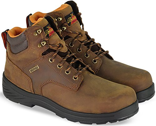 Thorogood 804-3165 Men's Thoro-Flex 6'' Waterproof Composite Safety Toe Sport Boot, Trail Crazyhorse - 7.5 2E US by Thorogood (Image #3)