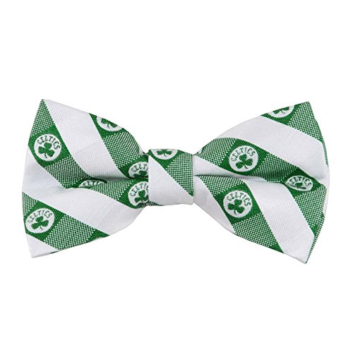 Celtics Checkered Bow Tie