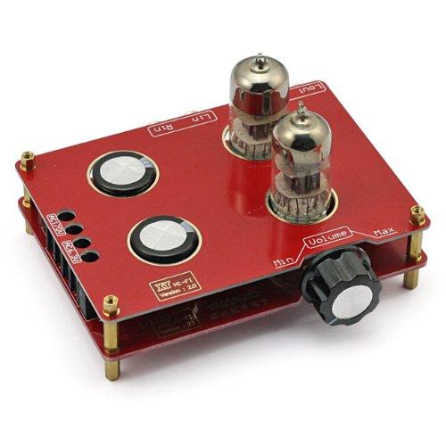 SainSmart Assembled 6N3 Hifi Buffer Audio Tube Headphone Amplifier Pre-amp Kit with Transformer Sain Store