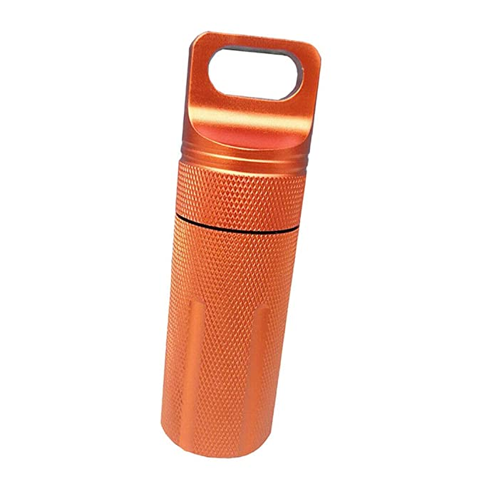 6250b7e110ed Amazon.com: NATFUR Pill Box Case Bottle Holder Waterproof Container ...
