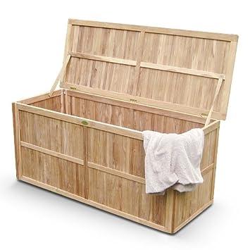 Gut SAM® Kissen-Box Bromo, Garten-Box aus Teak-Holz, Auflagen-Box zur  RI94