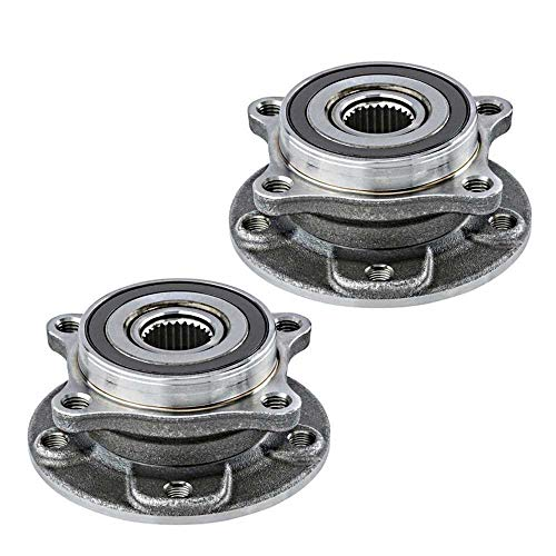 Prime Choice Auto Parts HB613350PR Front Pair 2 Wheel Hub Bearing Assemblies 5 Stud