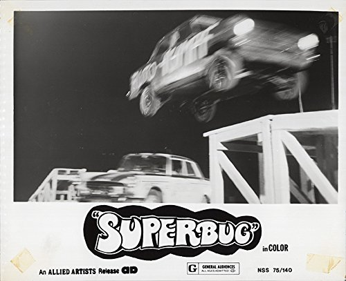 The Superbug Craziest Car in the World (aka Super Wheels) 1975 Authentic 8