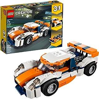 Kit de construcción LEGO Creator 3in1 Sunset Track Racer 31089, 2019 (221 piezas)