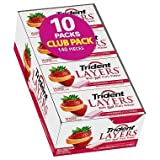 Trident Layers Strawberry + Citrus Sugar Free Gum - 14 ct. - 10 pk. (pack of 2)