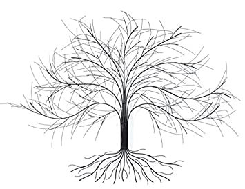 Amazon.de: Baum Calmo Wanddekoration Wanddeko Wand-Objekt Deko ...