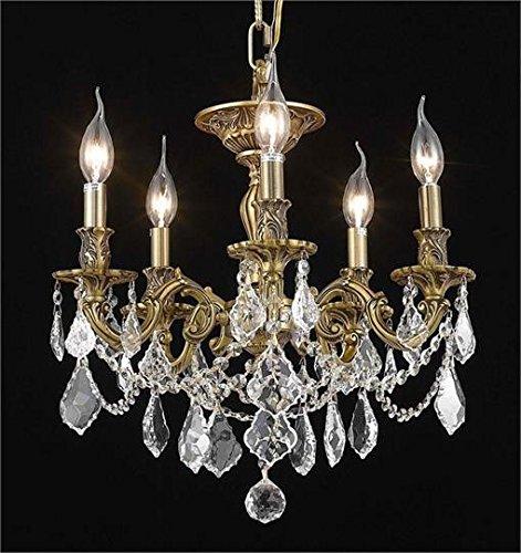 Reynard French Gold Traditional 5-Light Semi Flush Mount Heirloom Grandcut Crystal in Crystal ( & Reynard French Gold Traditional 5-Light Semi Flush Mount Heirloom ... azcodes.com