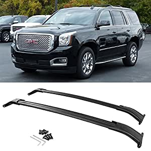 Amazon Com Cross Bars Roof Rack 2015 2017 Gmc Yukon Xl