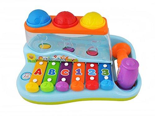 Xylophon Hammerspiel Kinder Babyspielzeug Musik Lernspielwaren Neu #1386
