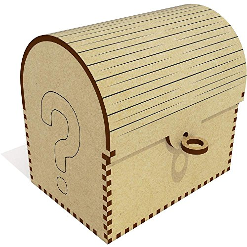 'Question Mark' Treasure Chest / Jewellery Box (TC00004126) - Marks Treasure Chest