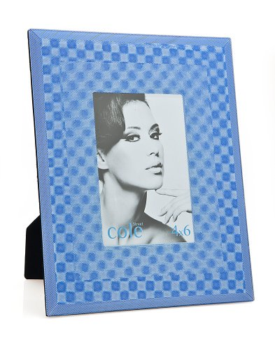 Philip Whitney Blue Holographic Frame