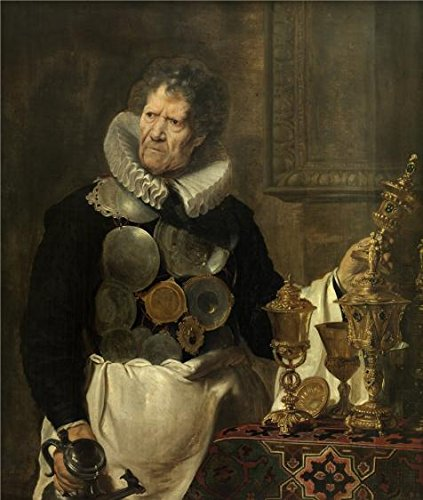 'Portrait Of Abraham Grapheus By Cornelis De Vos, 1620' Oil Painting, 12x14 Inch / 30x36 Cm ,printed On High Quality Polyster Canvas ,this Replica Art DecorativeCanvas Prints Is Perfectly Suitalbe For Living Room Decor And Home Decoration And Gifts