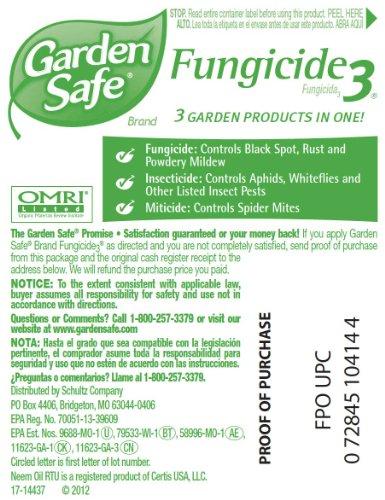 Amazon.com : Garden SafeFungicide3(Ready-to-Use) (HG-10414X) (24 fl ...
