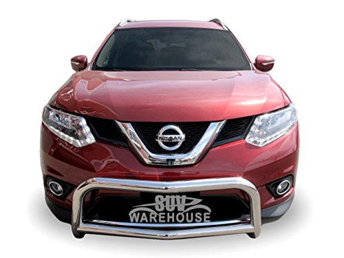 Wynntech Front Bull Bar 'A' Bumper Guard Protector Stainless Steel for 2014-2018 Nissan Rogue
