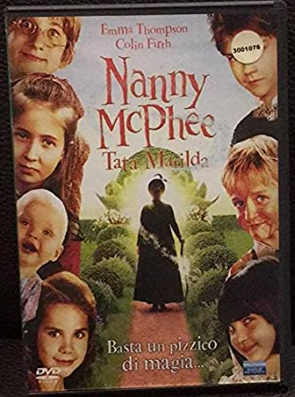 Nanny Mcphee Tata Matilda Amazon It Emma Thompson Colin Firth Kelly Macdonald Kirk Jones Film E Tv