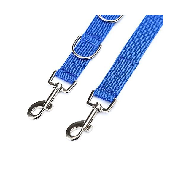 Decdeal Adjustable Dog Grooming Belly Strap D-rings Bathing Band Free Size Pet Traction Belt 3