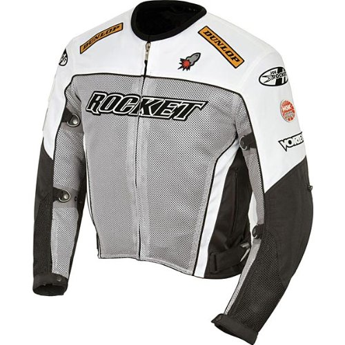- Joe Rocket UFO 2.0 Mens Mesh Motorcycle Jacket - Large