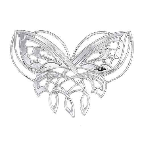 Fashion Butterfly Brooches Antique Silver Pins Brooches(br000036) ()