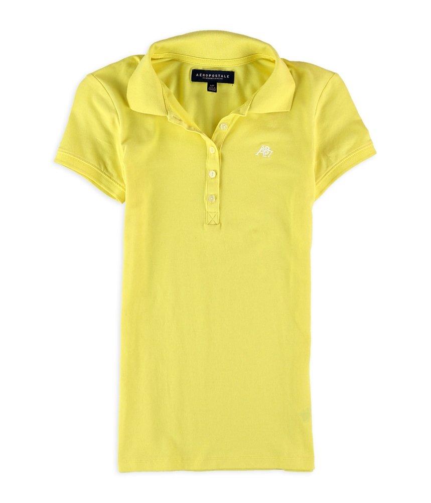 Aeropostale Womens A87 Polo Shirt 728 M