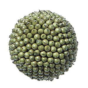 "Decorative Berry Ball Round Sage Green - 4"" Dia 116"