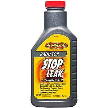AlumAseal ASLC16 Radiator Stop Leak and Conditioner Liquid - 16 Fl oz.