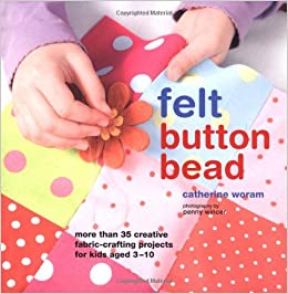 Felt, Button, Bead
