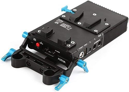 Fotga Dp500iii V Mount V Lock Platte Akku Halterung Elektronik