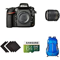 Nikon D810 FX-format Digital SLR Event Photography Lens Kit w/ AmazonBasics Accessories
