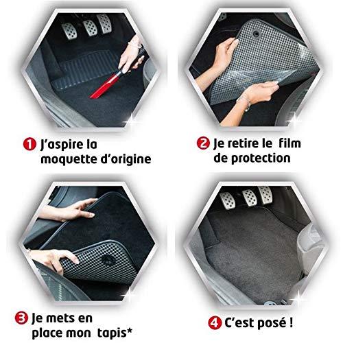Antid/érapant Gamme Luxe Moquette Haute Qualit/é 1000g//m/² Sur Mesure Finition Velours 3 Pi/èces DBS 1765158 Tapis Auto Tapis de sol pour Voiture