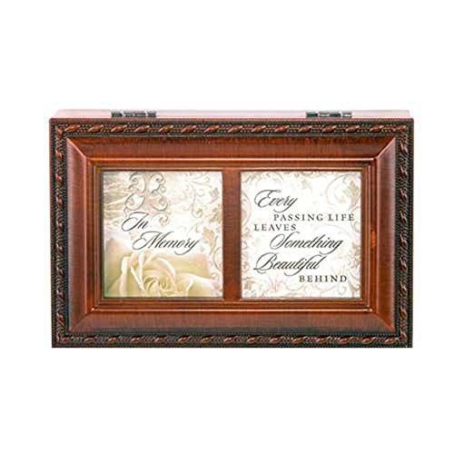 【全商品オープニング価格 特別価格】 In Memory Bereavement Keepsake Petite Woodgrain Music Petite Memory Box by Music Cottage Garden B01A9NB5A6, 久世郡:cc1cc231 --- arcego.dominiotemporario.com