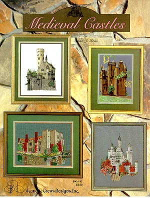 Medieval Castles - Cross Stitch Pattern