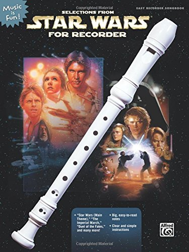 Selections from Star Wars for Recorder (Book & Recorder) PDF
