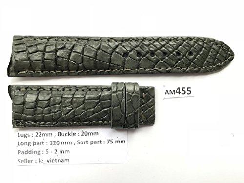 Grey Alligator Strap - 9