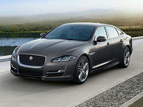 Home Comforts LAMINATED POSTER 2018 Jaguar XJ Car Poster Print 24x16 Adhesive Decal by Home Comforts