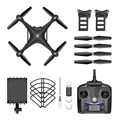 Holy Stone HS110D FPV RC Drone with 1080P HD Camera Live Video 120°Wide-Angle WiFi Quadcopter with Gesture Control…