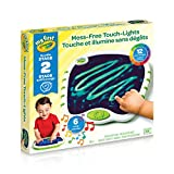 Crayola My First Touch Lights, Mess-Free Portable Drawing Board, Kids, 2, 3, 4