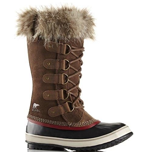 Womens Sorel Joan Of Arctic Walking Winter Rain Hiking Waterproof Boots - Umber - 7