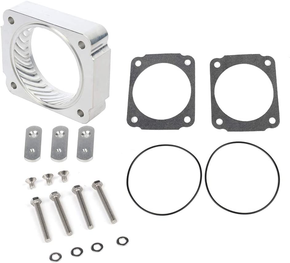 FEIPARTS New Electric Throttle Body Spacer Compatible with Replacement for 4.6L 5.4L 1997 1998 1999 2000 2001 2002 2003 Ford F-150