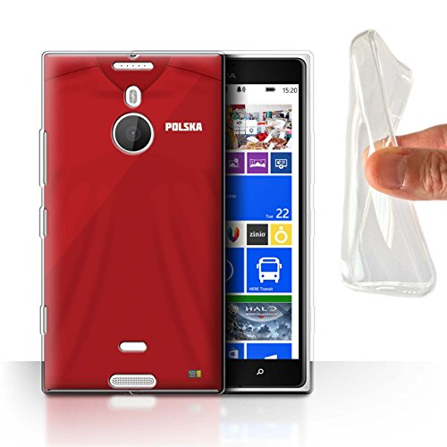 STUFF4 Gel TPU Phone Case/Cover for Nokia Lumia 1520/Poland/