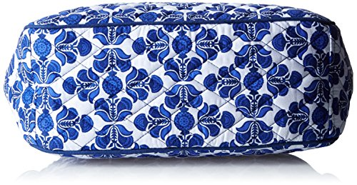 Cobalt Crossbody Tile Vera Signature Go the Cotton Bradley On qxwvBOS0