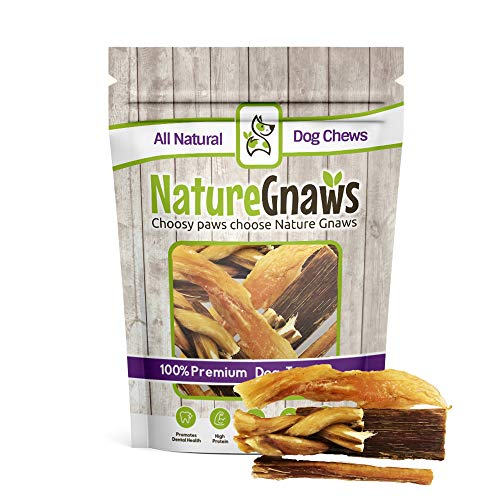 Nature Gnaws Small Dog Chew Variety Pack – (3) Bully Sticks, (3) Braided, (3) Jerky Chews & (3) Tendon Bites For Sale