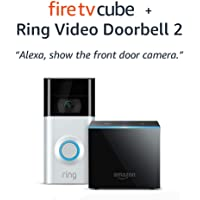 Deals on All-New Fire TV Cube Bundle + Ring Video Doorbell 2