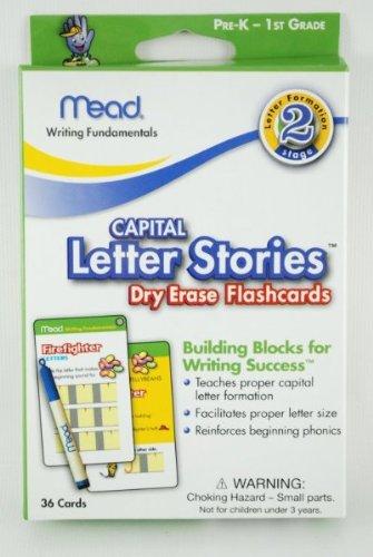 Dry Erase Flashcard 33 Pack- Letter (K-1St) 276 pcs sku# 1227956MA